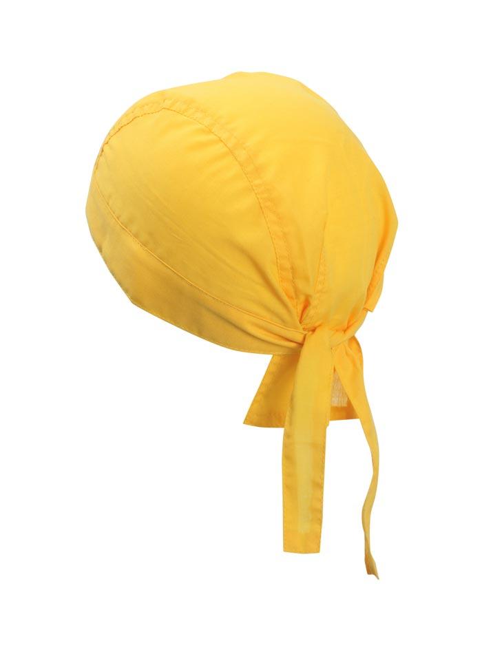 Šátek na hlavu - Zlatá univerzal