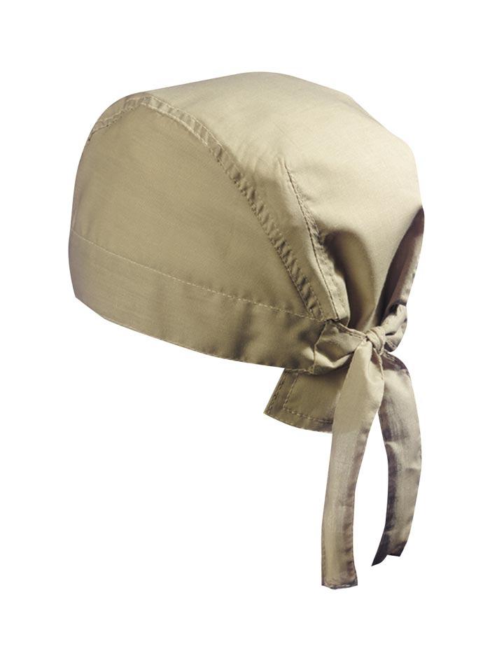 Šátek na hlavu - Béžová univerzal