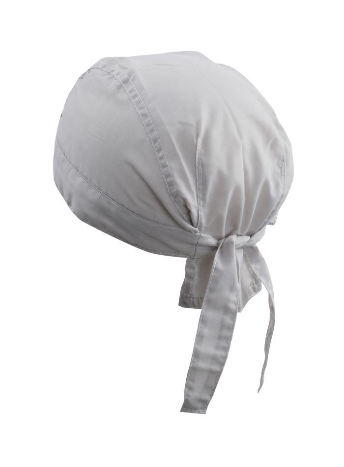 Šátek na hlavu - Světle šedá univerzal