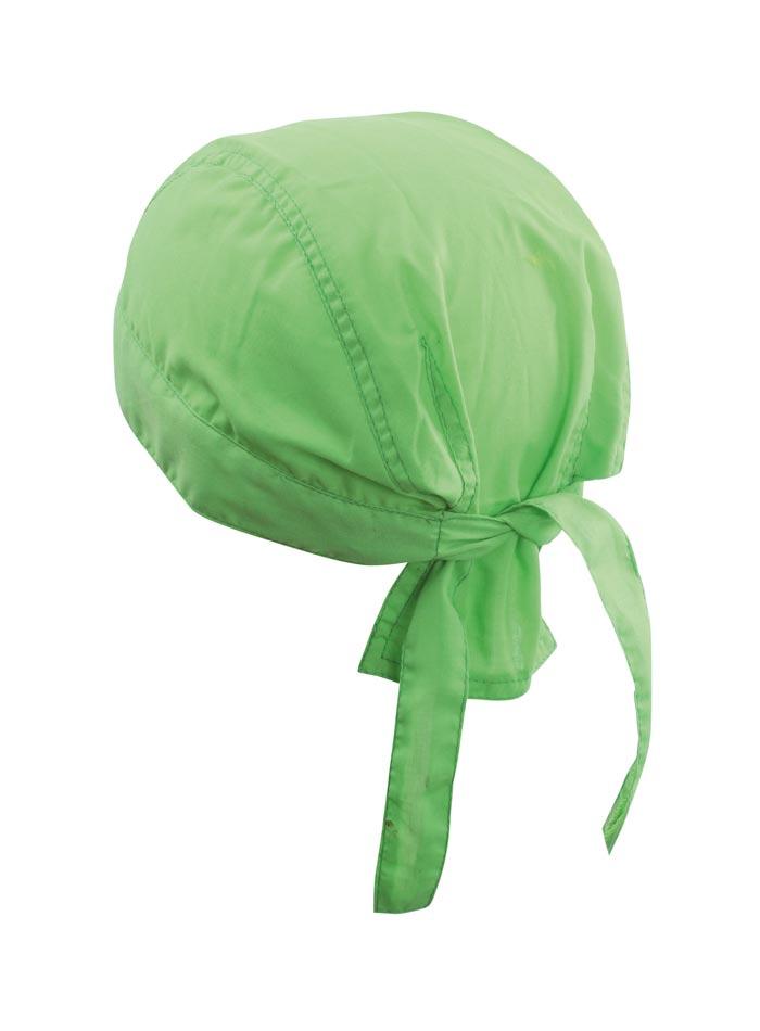 Šátek na hlavu - Zelená univerzal
