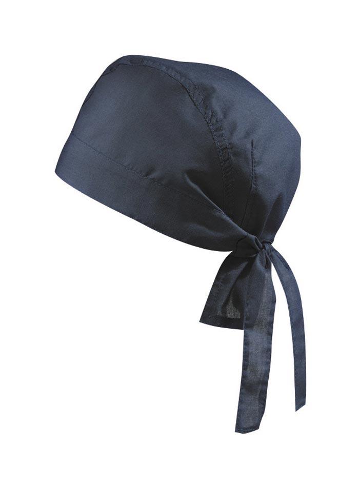 Šátek na hlavu - Námořní modrá univerzal