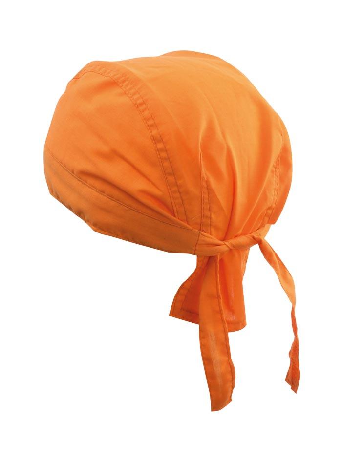 Šátek na hlavu - Oranžová univerzal