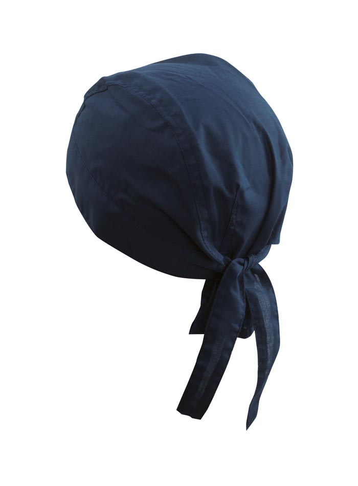 Šátek na hlavu - Tmavě modrá univerzal