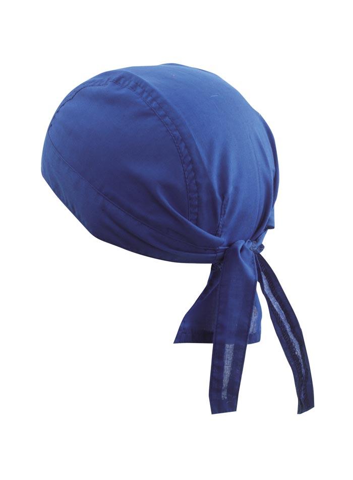 Šátek na hlavu - Královská modrá univerzal