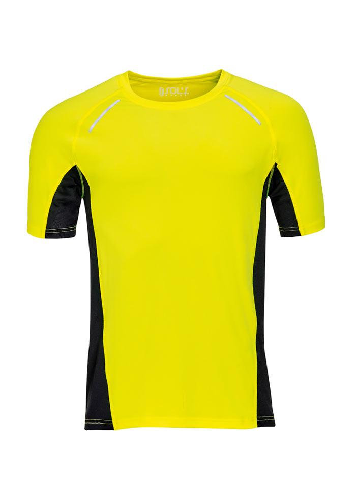 Pánské sportovní tričko Sydney - Neonově žlutá S