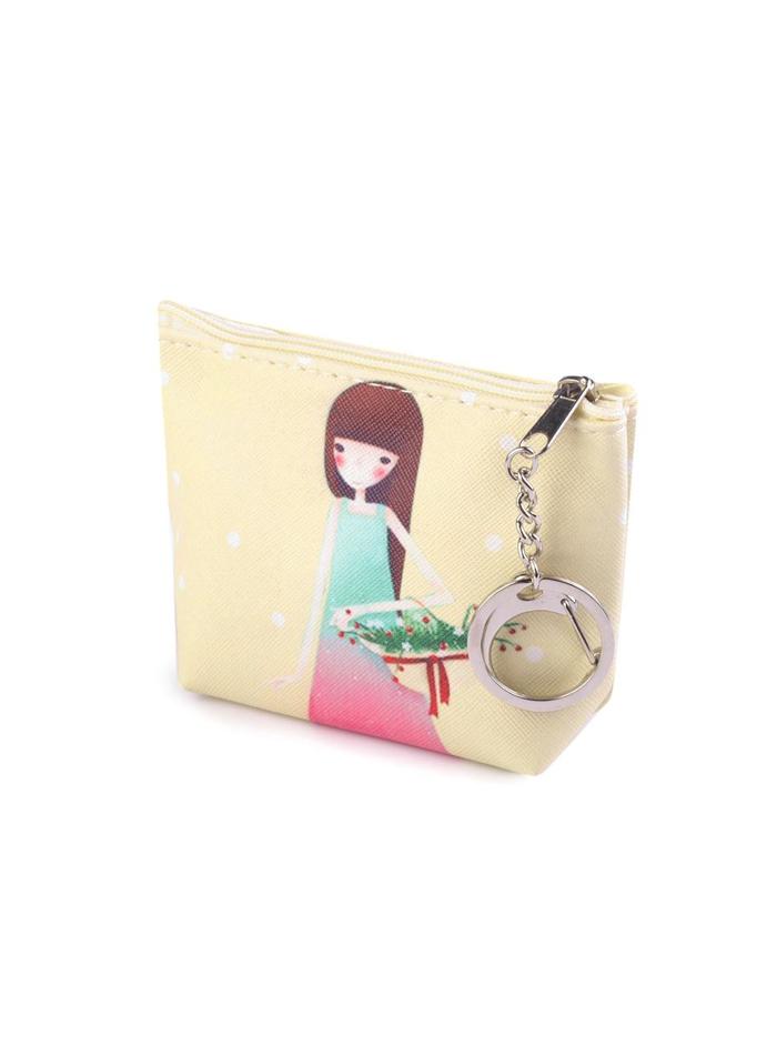Dívčí peněženka - Žlutá univerzal
