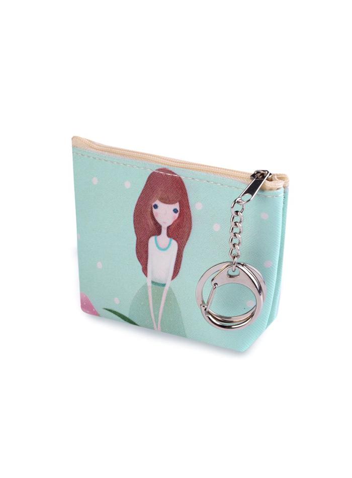 Dívčí peněženka - pomněnková univerzal