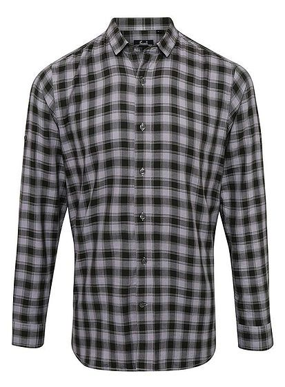 Pánska kockovaná košeľa Mulligan
