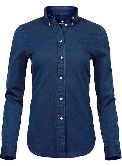 Dámská denim košile Tee Jays