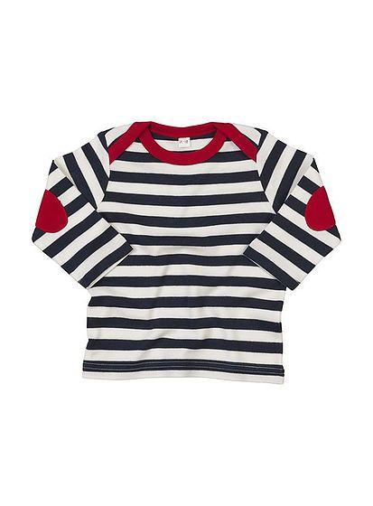 Pruhované tričko pro miminko
