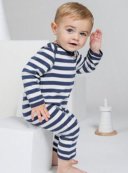 Dětský romper s proužky