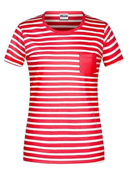 Dámské pruhované tričko