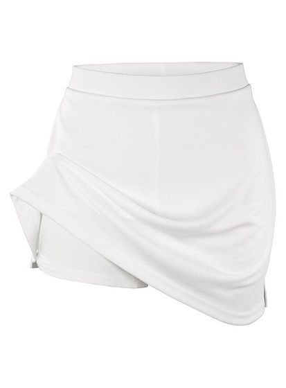 Dámská sportovní sukně s integrovanými šortkami