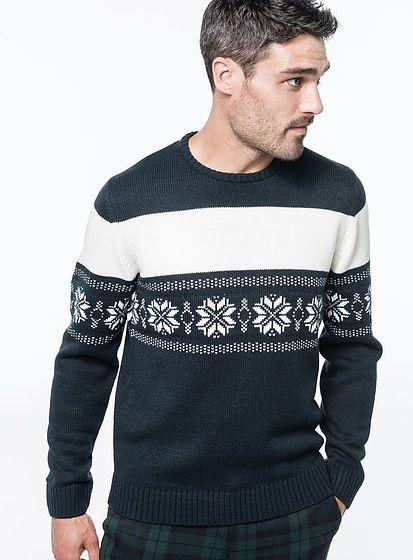 Unisex zimní svetr Star