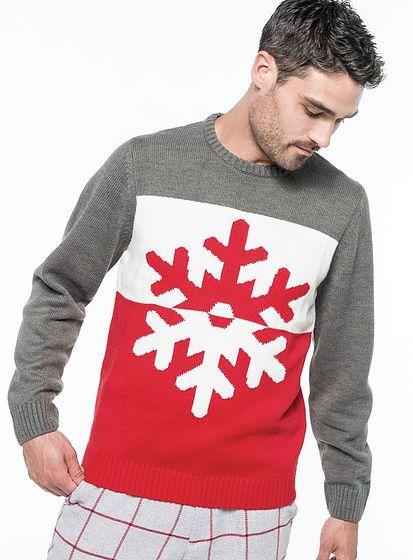 Zimný sveter Snowflake