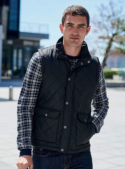 Pánská prošívaná vesta Tyler