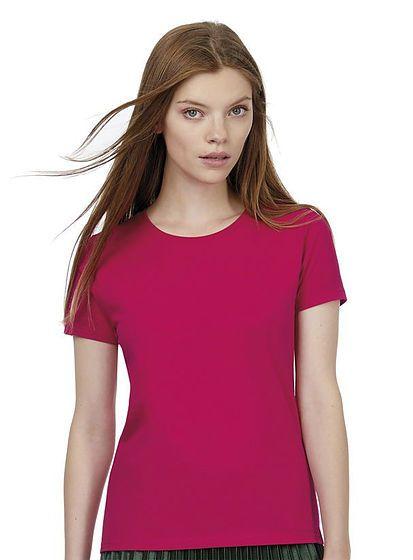 Silnejší bavlnené dámske tričko