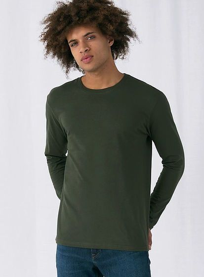 Tričko s dlouhým rukávem B&C