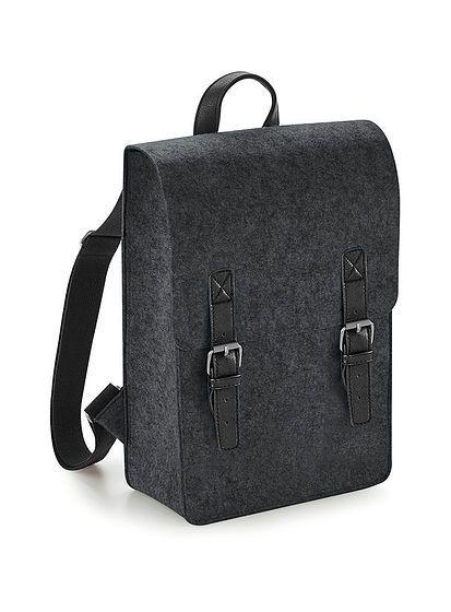 Plstený retro batoh