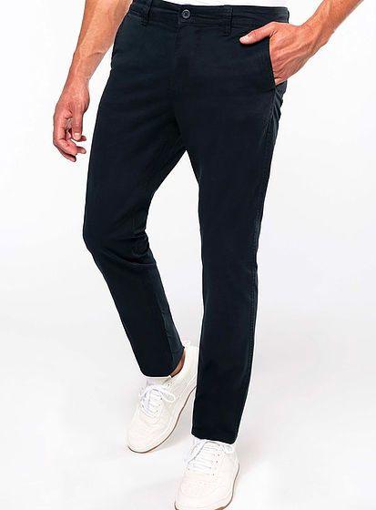Pánské pohodlné kalhoty Chino