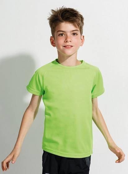 Neónové športové tričko