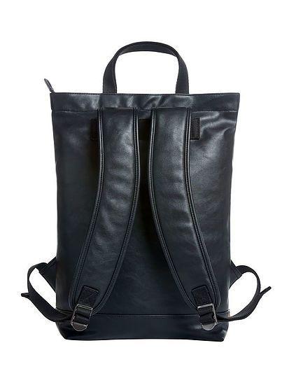 Koženkový elegantní batoh