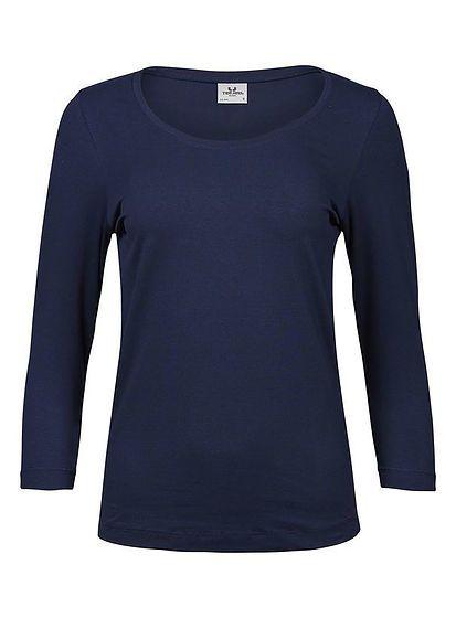 Dámske Stretch tričko s 3/4 rukávmi Tee Jays