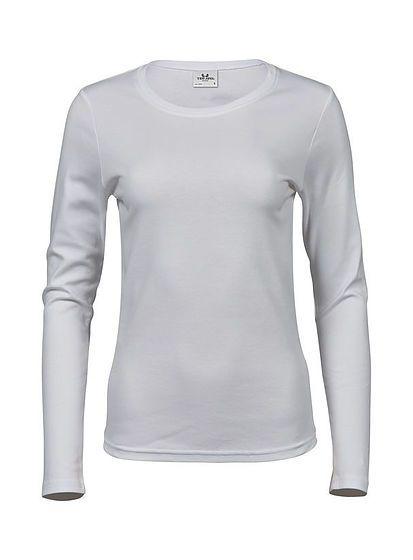 Dámské tričko s dlouhými rukávy Tee Jays Interlock