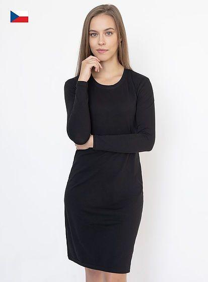 Dámske šaty s dlhým rukávom Veronika