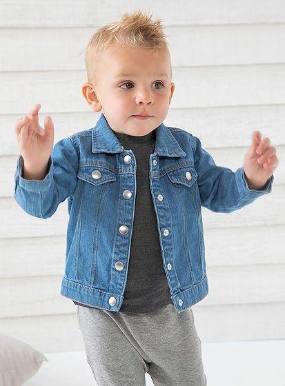 Detská džínsová bunda Rocks