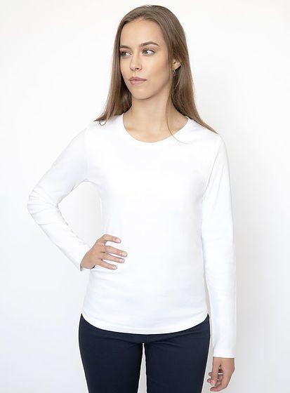 Dámske tričko s dlhými rukávmi Tee Jays Interlock