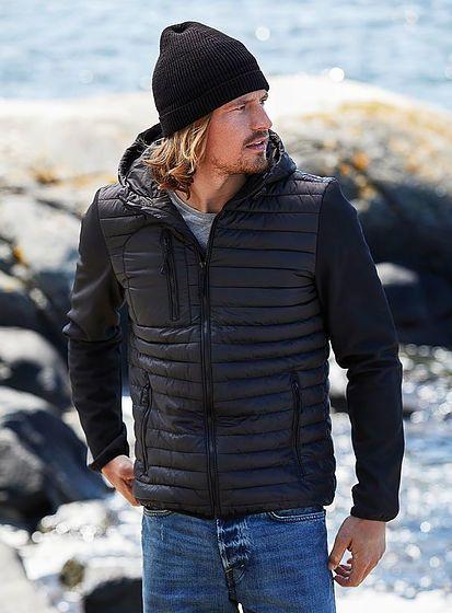 Pánská bunda s kapucí Crossover Tee Jays
