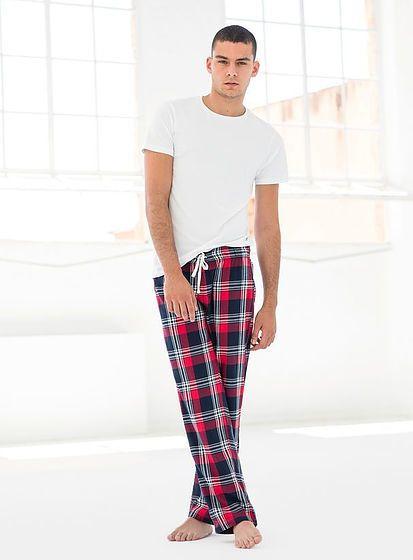 Pánské kalhoty na spaní Tartan