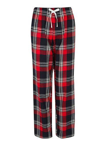 Dámske nohavice na spanie Tartan