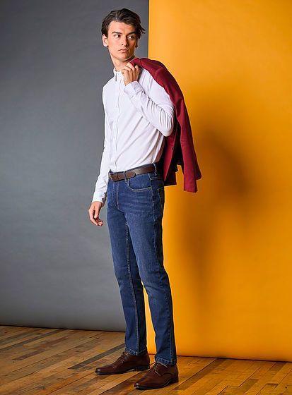 Pánske slim džínsy Max