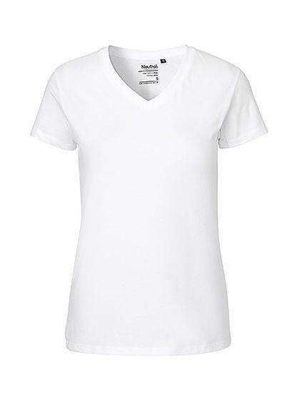 Dámské tričko V-Neck Neutral