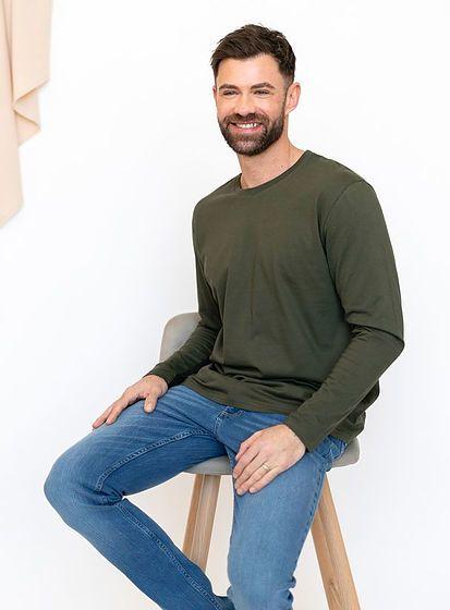 Tričko s dlhými rukávmi B&C