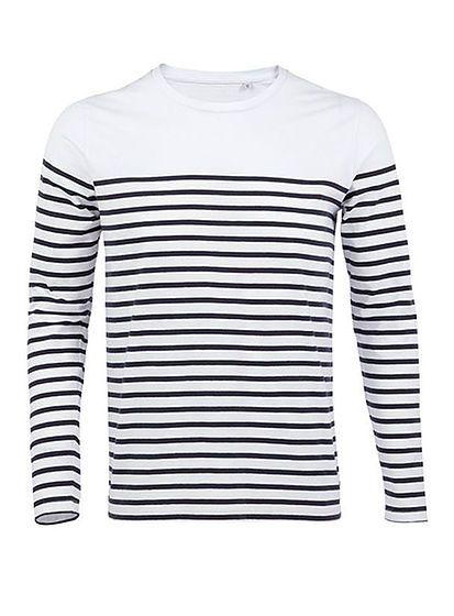 Pánske tričko s dlhým rukávom Matelot