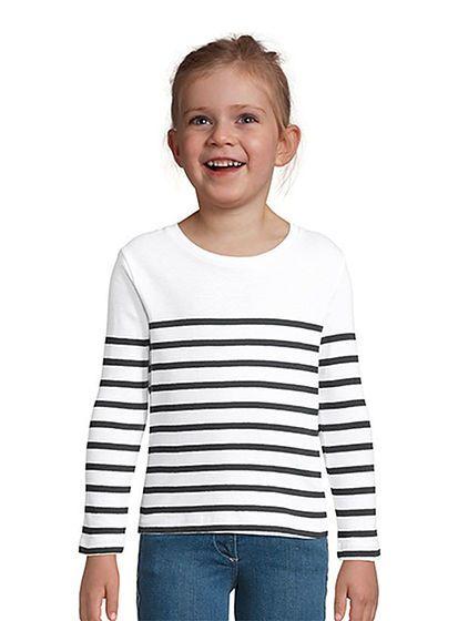 Dětské tričko s dlouhým rukávem Matelot