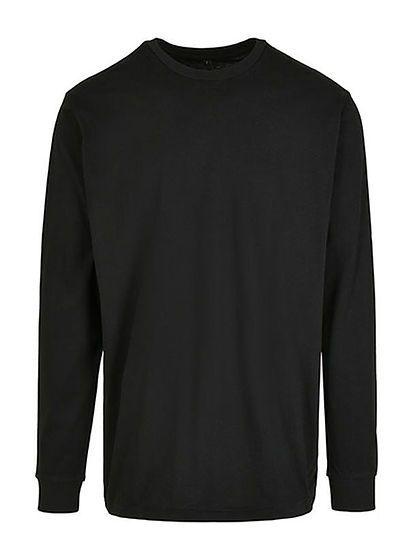 Pánske tričko s dlhým rukávom Organic