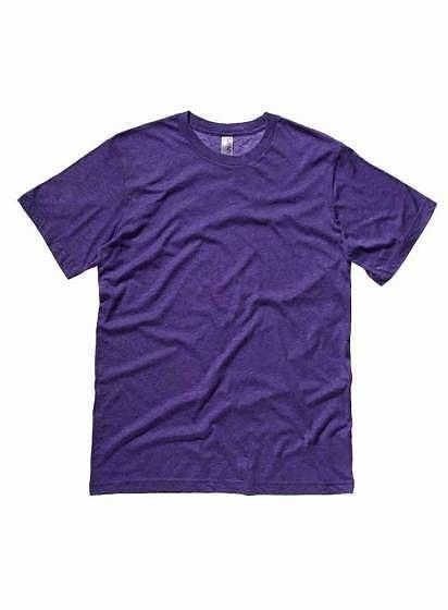 Nekrčivé žíhané tričko Bella+Canvas