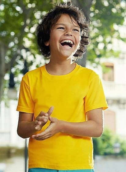 Bavlnené detské tričko Softspun