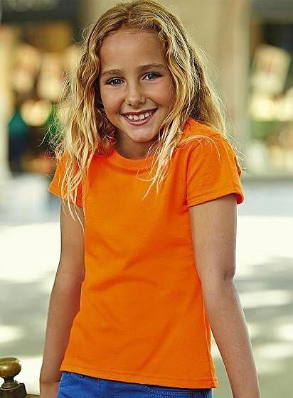 Dívčí tričko Softspun