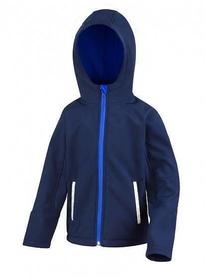 Softshell bunda s kapucí