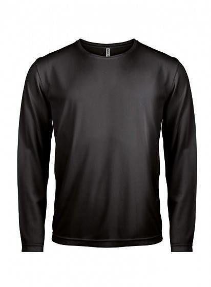 Športové tričko s dlhým rukávom