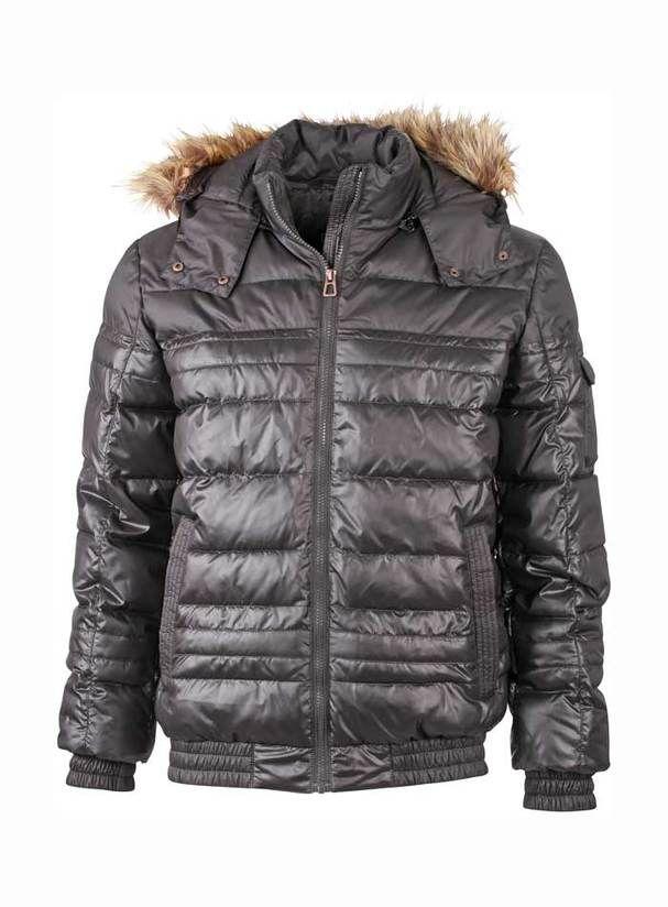 ee9197d9f7ac Pánská zimní bunda s kožíškem - Pánská zimní bunda s odepínacím ...