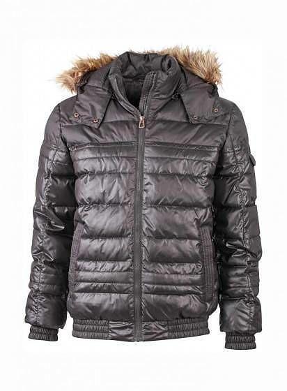 Pánska zimná bunda s kožušinkou ... fd0903fee53