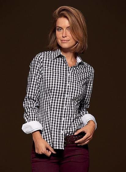 Dámská kostkovaná košile