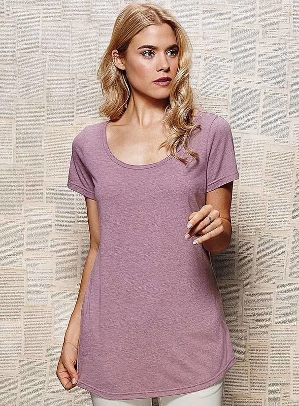de045641e7e Dámské dlouhé tričko Daisy - Vzdušné a lehké tričko v prodlouženém ...