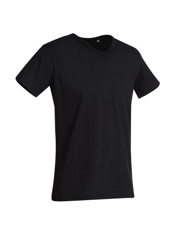 a61bd9dd8 Pánske tričko Ben s výstrihom do V - Pásnke tričko s výstrihom ...
